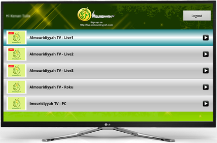 How to install Almouridiyyah TV Apps to GoogleTV Devices